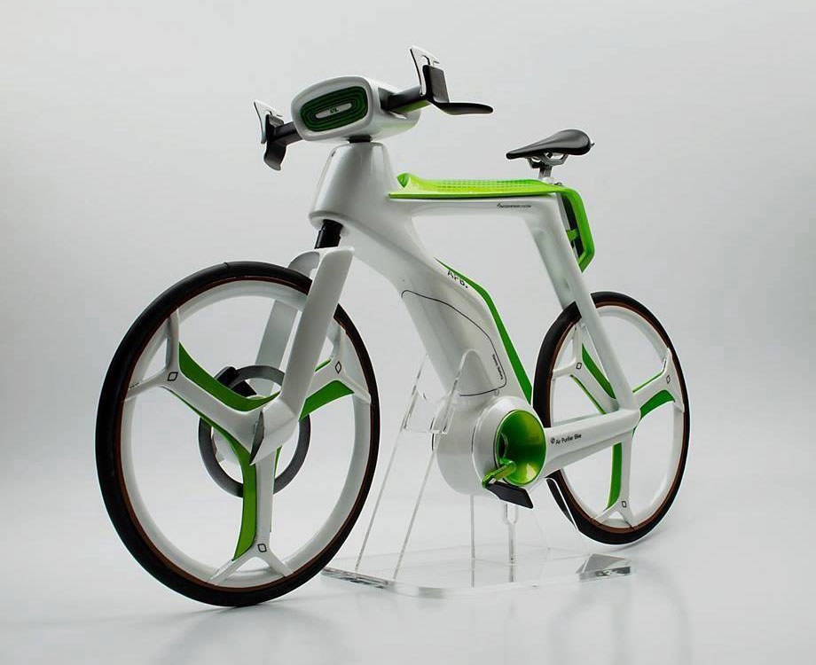 Air Purifier Bike